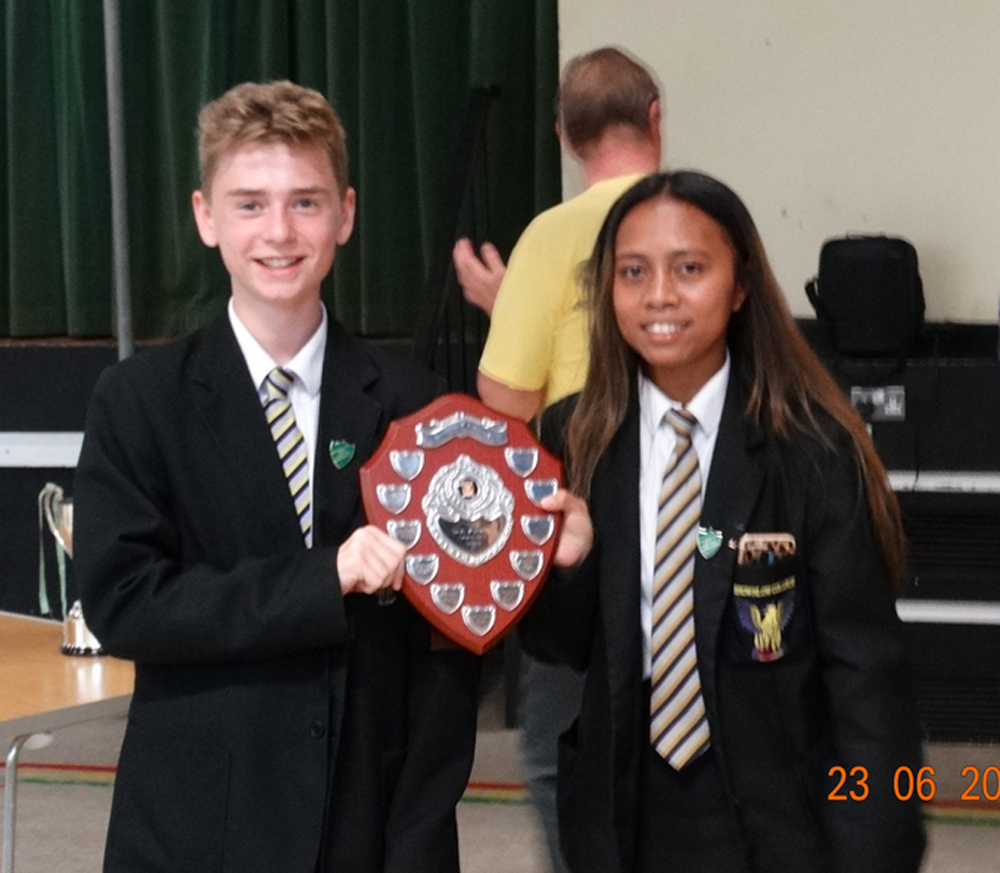 z antrim house captains sports day winners
